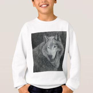 オオカミの芸術 スウェットシャツ
