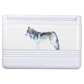オオカミの芸術 IGLOOクーラーボックス