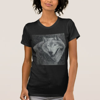 オオカミの芸術 Tシャツ