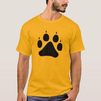 オオカミの足(黒) Tシャツ
