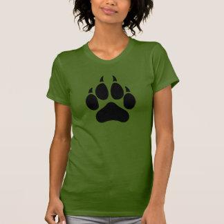 オオカミの足 Tシャツ