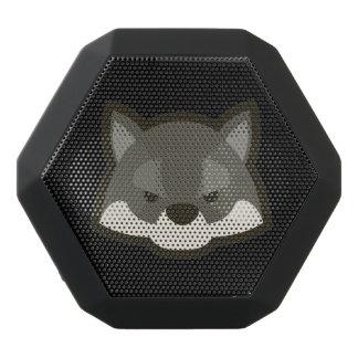 オオカミの顔 ブラックBluetoothスピーカー