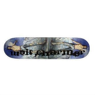 オオカミの魅惑者のファンタジーScateboard スケートボード