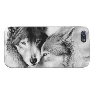 オオカミのiPhoneの場合 iPhone 5 カバー