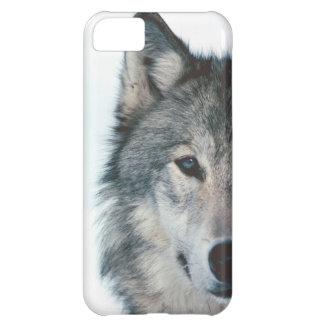 オオカミのiphone 5の場合 iPhone5Cケース