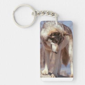 オオカミのkeychain キーホルダー