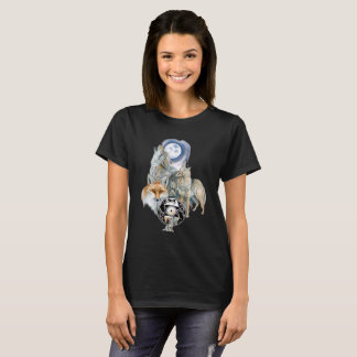 オオカミのSpirts Tシャツ