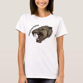 オオカミのTシャツ Tシャツ