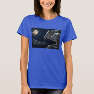 オオカミのTシャツXL Tシャツ