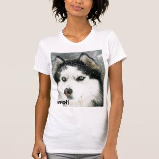 オオカミシベリア Tシャツ