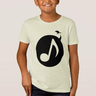 オオカミラルフ-ワイシャツのロゴの背部に注意して下さい Tシャツ