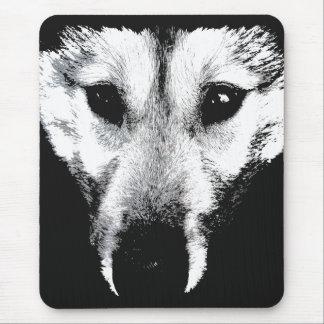 オオカミ子犬のマウスパッドのギフトのマラミュートのハスキー犬 マウスパッド