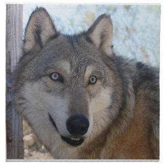 オオカミ山の聖域- Istasの布のナプキン ナプキンクロス