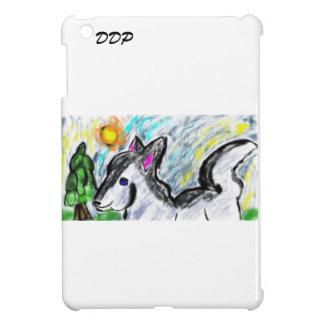オオカミ愛太陽 iPad MINIケース