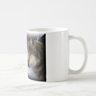 オオカミ愛 コーヒーマグカップ