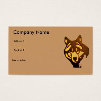 オオカミ1の名刺 名刺