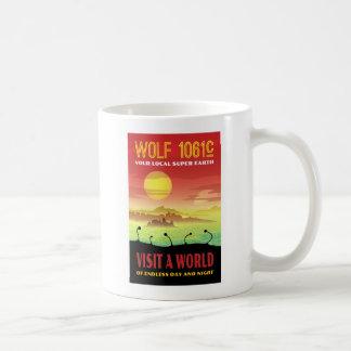 オオカミ1061c Exoplanet旅行絵 コーヒーマグカップ