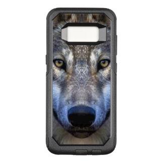 オオカミ オッターボックスコミューターSamsung GALAXY S8 ケース