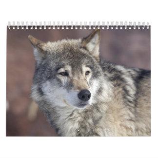 オオカミ カレンダー