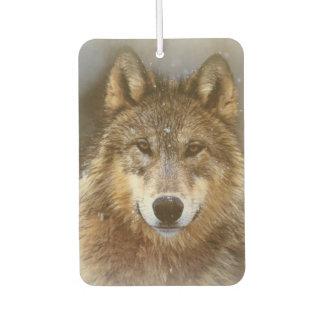 オオカミ カーエアーフレッシュナー