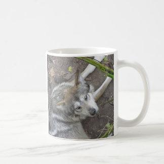 オオカミ コーヒーマグカップ