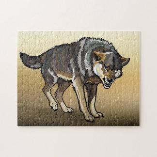 オオカミ ジグソーパズル