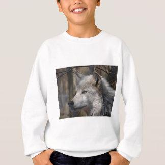 オオカミ スウェットシャツ