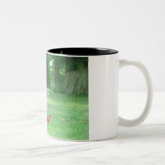 オオカミ ツートーンマグカップ