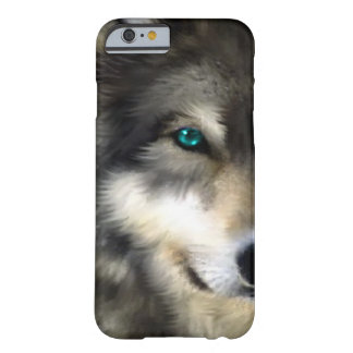 オオカミ|目|電話|ケース スキニー iPhone 6 ケース