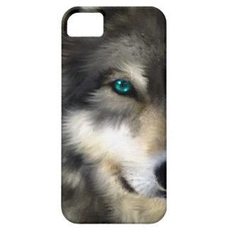 オオカミ|目|電話|ケース iPhone 5 COVER