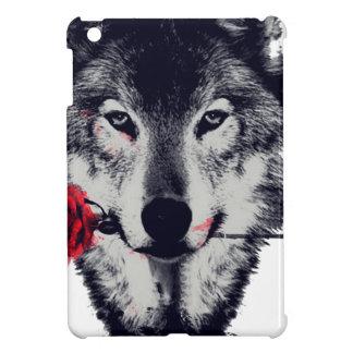オオカミ iPad MINIカバー