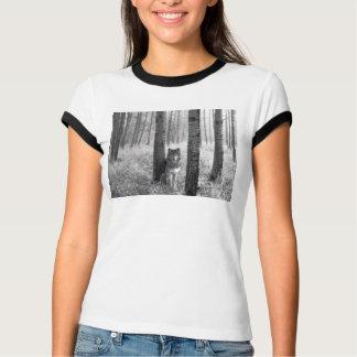 オオカミ Tシャツ