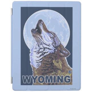 オオカミHowlingWyoming iPadスマートカバー