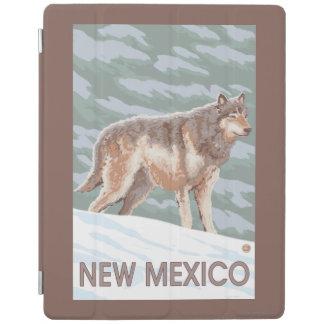 オオカミStandingNewメキシコ iPadスマートカバー