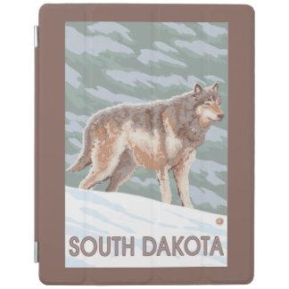 オオカミStandingSouthダコタ iPadスマートカバー