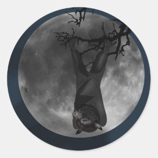 オオコウモリのこうもり ラウンドシール