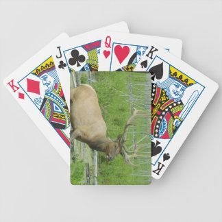 オオシカのトランプのポーカーカード バイスクルトランプ