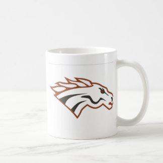 オオシカの川の第6等級の白のムスタング コーヒーマグカップ