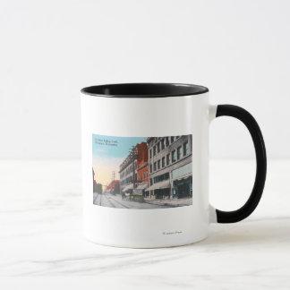 オオシカの通りからの南眺め マグカップ