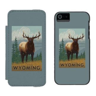 オオシカSceneWyoming Incipio Watson™ iPhone 5 財布 ケース