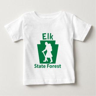 オオシカSFのハイキング(女性) ベビーTシャツ
