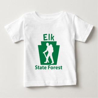 オオシカSFのハイキング(男性) ベビーTシャツ