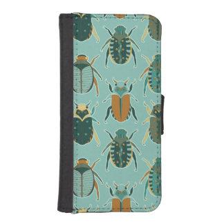オオタマオシコガネのカブトムシ iPhoneSE/5/5sウォレットケース