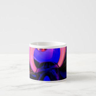 オオタマオシコガネの花の抽象芸術 エスプレッソカップ
