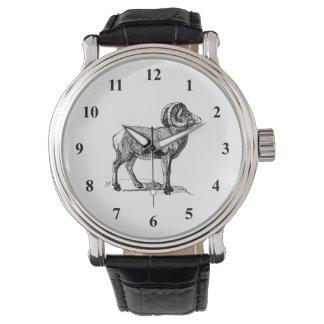 オオツノヒツジ 腕時計
