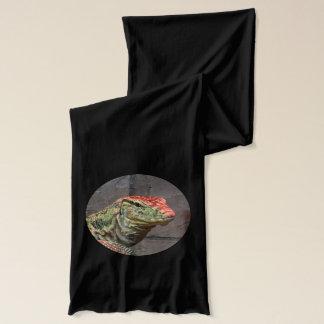オオトカゲのポートレート スカーフ