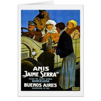 オオハシカッコウハイメSerraブエノスアイレス-ヴィンテージの広告 カード