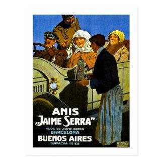 オオハシカッコウハイメSerraブエノスアイレス-ヴィンテージの広告 ポストカード