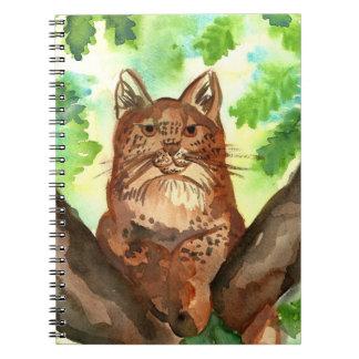 オオヤマネコのオオヤマネコのノート ノートブック