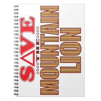 オオヤマネコの保存 ノートブック